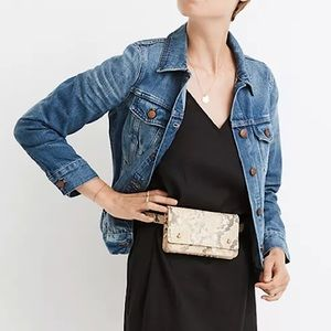 Madewell Pinter 100% Cotton The Jean Jacket Size XS